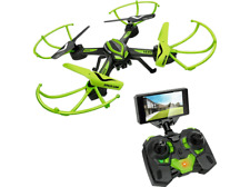 Drone - World Brands DRONE SPACE-CAM, WiFi, Tecnología FPV, Auto Looping 360º
