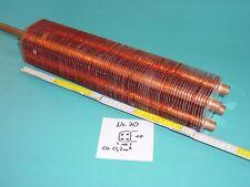 Lamellentauscher aus Kupfer Nr. 70   Destille Kühlspirale Teichheizer Solar