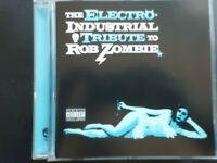 The  ELECTRO - INDUSTRIAL  TRIBUTE  to   ROB  ZOMBIE  ,   CD 2002 , ROCK , METAL