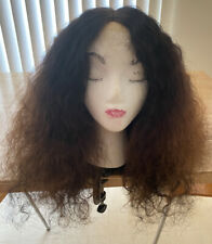 Raw Indian Curly Wig Lace closure