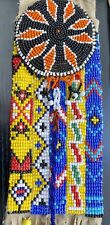 Native American Navajo Style Hand Beaded Medicine Bag
