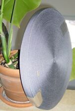 5x Gewebegurtband, Band, Gurtband, Festmacher, Weidenzaun grau ca. 2,0cm breite