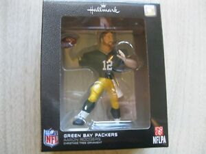 2017 Hallmark Ornament - Aaron Rodgers - Green Bay Packers - NFL Football  New