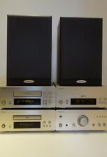 Denon D-F07 HIFI Seperates Component System and Free Speakers+Remote