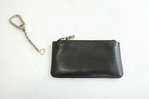 Authentic LOUIS VUITTON Epi Coin Purse Key Pochette Cles Wallet  #9635