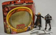 9 ) Toy Biz  Der Herr der Ringe 18cm Figur Elven Archer + Berserker Uruk-Hai OVP