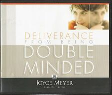 DELIVERANCE FROM BEING DOUBLE MINDED         4 CDs        Joyce Meyer