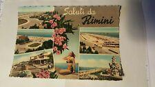 Cartolina Saluti da  Rimini mini foto 1964 SP121 ^