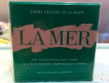 LA MER THE MOISTURIZING  SOFT CREAM 2 OZ 60 ML FULLSIZE SEALED BOXED