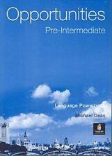 Opportunities Pre-Intermediate Language Powerbook Michael Dean