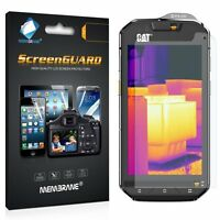 2 x Clear LCD Screen Protector Film Foil Saver For Caterpillar Cat S60