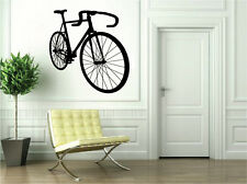 Black Bicycle Vinyl Sticker Decal for Wall Decor Bike