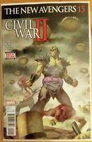 The NEW AVENGERS #15 Civil War II (2016 MARVEL Comics) ~ VF/NM Comic Book