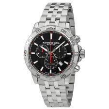 Raymond Weil Tango Chronograph Black Dial Mens Watch 8560-ST2-20001