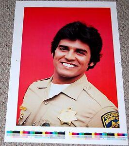 CHiPs ERIK ESTRADA Ponch PROOF VERSION Poster 1979 Dargis #9799 Hot Guy Beefcake