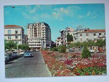 SOTTOMARINA LIDO Piazzale Italia Hotel auto car Chioggia Venezia cartolina