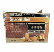 Black & Decker Spacemaker Under Cabinet Toast-R-Oven Toaster Broiler SO2500 👀