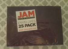 NEW JAM Paper Envelopes 25 Pack Purple  5.25