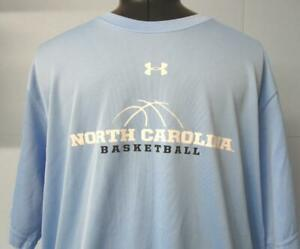 NORTH CAROLINA TARHEELS BASKETBALL T-Shirt (XL) UNDER ARMOUR