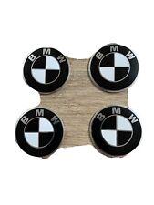 BMW Rounded Racing Motorcycle Bike Car Decal Sticker Helmet Black 55mm