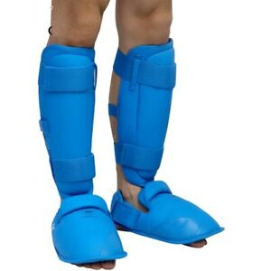 Thigh Protector Karate Training Competition Shin Instep Adult Men Leg Guards