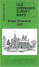 OLD ORDNANCE SURVEY MAP BRISTOL (DOWNEND) 1902