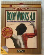 BODY WORKS 4.0 Human Anatomy Leaps To Life CD/ROM NIB