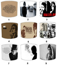 Bob Dylan Designs Lampshades, Ideal To Match Cushion & Covers