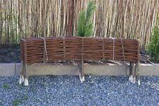 Palisade Weide Weidenzaun Beetumrandung Beeteinfassung Imprägniert 10St.120x20cm