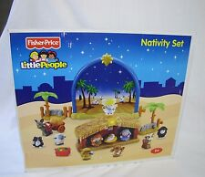 NEW Fisher Price Little People CHRISTMAS NATIVITY SET 2008 Musical Sounds Lights