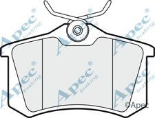 PAD1190 GENUINE APEC REAR BRAKE PADS FOR VW LUPO