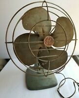 Vintage Mid Century GE General Electric FM10S63 Fan 1960's FOR PARTS OR REPAIR