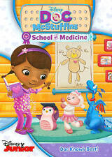 Disney Doc McStuffin's School of Medicine Doc Knows Best DVD New/Sealed Toddlers