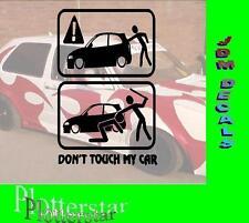 Dont touch my car nr3  JDM Sticker Aufkleber oem Power fun like Shocker Hater