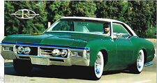 1969 BUICK RIVIERA Custom SPEC SHEET / Brochure