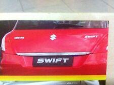 CHROME REAR TAILGATE HANDLE LINE FOR SUZUKI SWIFT 5DOOR HATCHBACK 2012 ECO CAR