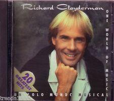 RICHARD CLAYDERMAN Un Solo Mundo Musical CD Classic Greatest Hits Rare OOP