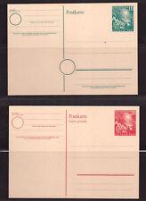 Bund Mi.Nr.PSo1+2 ** Postfr.--2 Ganzsachen Erster Bundestag--ca. unter 70 M€--75