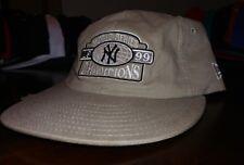 Vintage new era strapback hat new york yankees 1999 championship