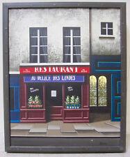 THOMAS PRADZYNSKI Original French Oil Painting Hopper Style Realism Signed w COA