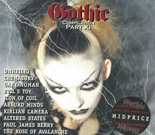 Gothic Compilation Part 11 von Various Artists  Digi CD  Neu OVP