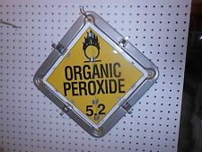 USED TRUCK SEMI TRAILER HAZMAT 7 IN 1  HAZMAT SIGN POISON  OXIDIZER CORROSIVE