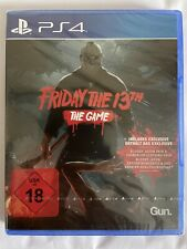 Friday the 13th - The Game (Sony PlayStation 4, 2017) Neu