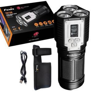 Fenix TK72R 9000 Lumen Rechargeable OLED Display Search Flashlight/Powerbank