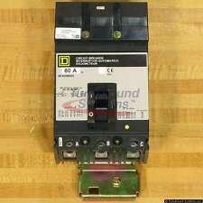 Square D SFA308035 Circuit Breakers, 80 Amp, 50 C, NEW!