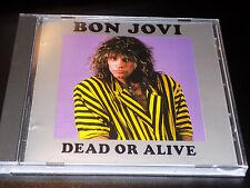 Bon Jovi Dead Or Alive Live Slippery When Wet Tour 1987 Rare German Import CD