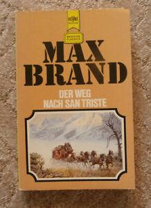 """Western-TB, Max Brand:""""Der Weg nach San Triste"""", Heyne TB Nr. 2717"""