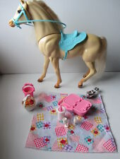 BARBIE HORSE - Vintage NIBBLES with Moving Neck & Magnetic Nose (1995)