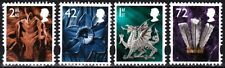 GRAIT BRITAIN / Regional WALES 1999-2006. 4v, MNH