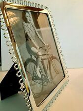 """KATE SPADE KEATON STREET SILVER PICTURE FRAME 8"""" X 10"""" NEW IN BOX"""
